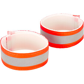 Nathan Anklebands Pair Hi-Viz Orange